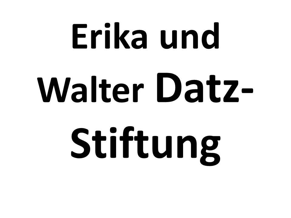 Erika und Walter Datz-Stiftung